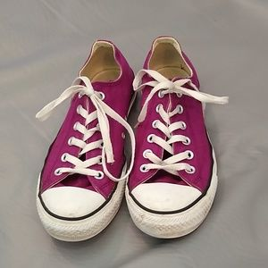 Converse All Stars purple size 9.5